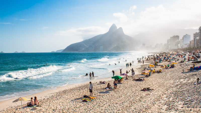 Ipanema beach Brazil