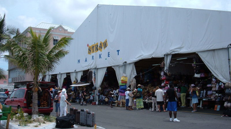"""Nassau straw market 1"" by BrokenSphere - Own work. Licensed under CC BY-SA 3.0 via Wikimedia Commons."