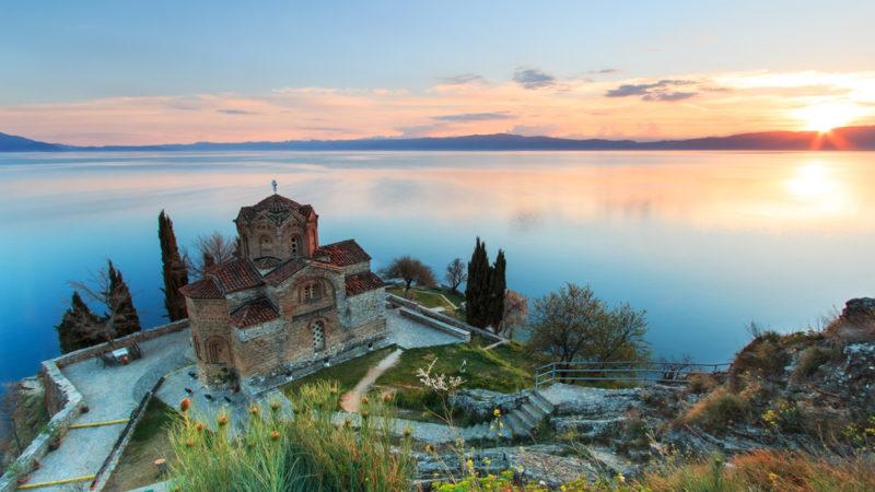 St John Kaneo Church Ohrid Macedonia