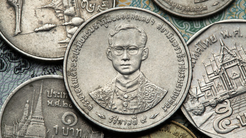 Thailand Coins and King