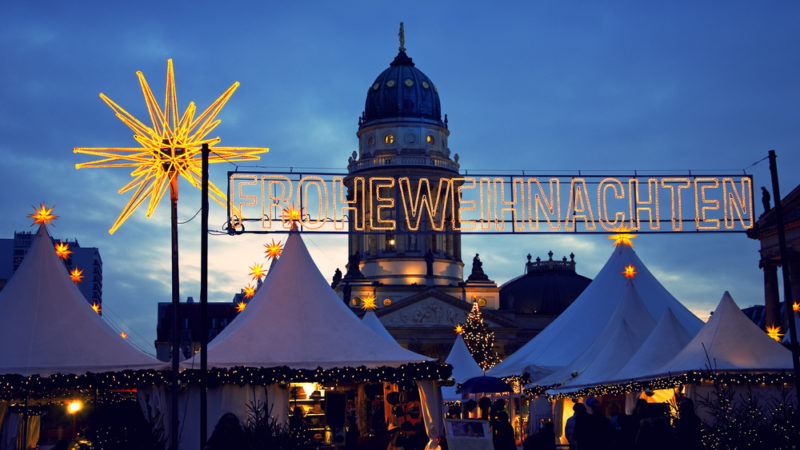 Christmas market Berlin Germany
