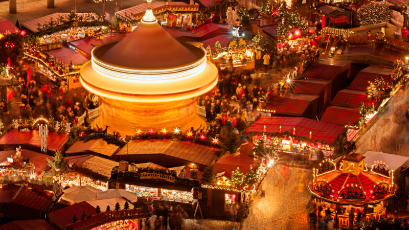 Christmas market Dresden Germany