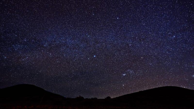 Mauna Kea night sky