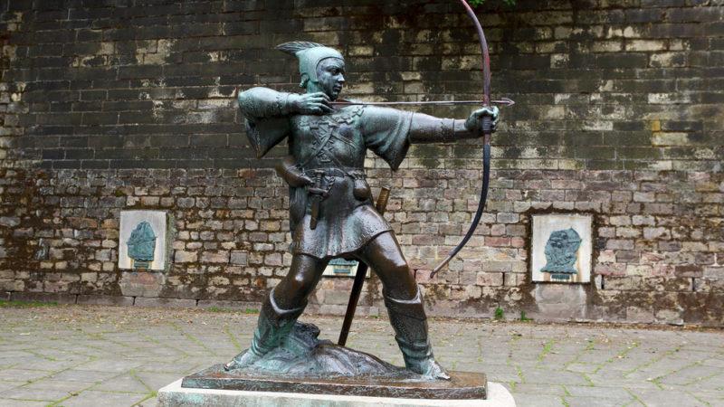 Nottingham, England Robin Hood