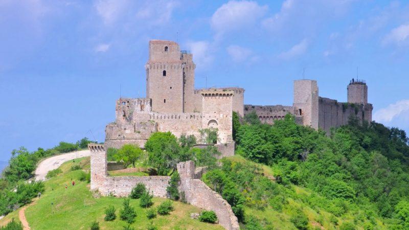 Rocca Maggiore assisi Italy