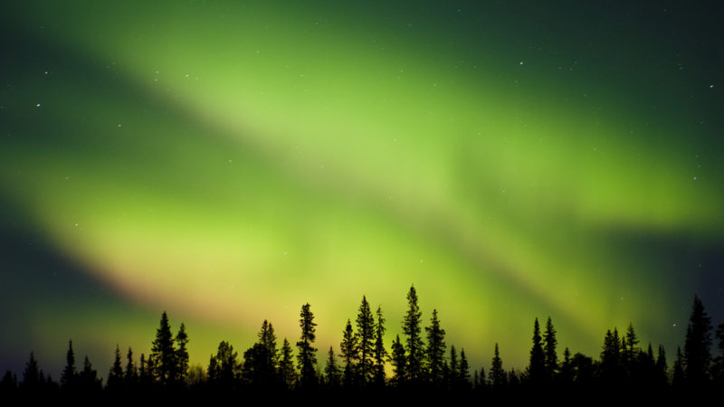 Sweden aurora borealis