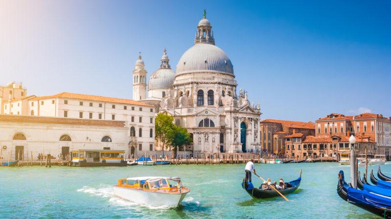 Venetian Lagoon Italy