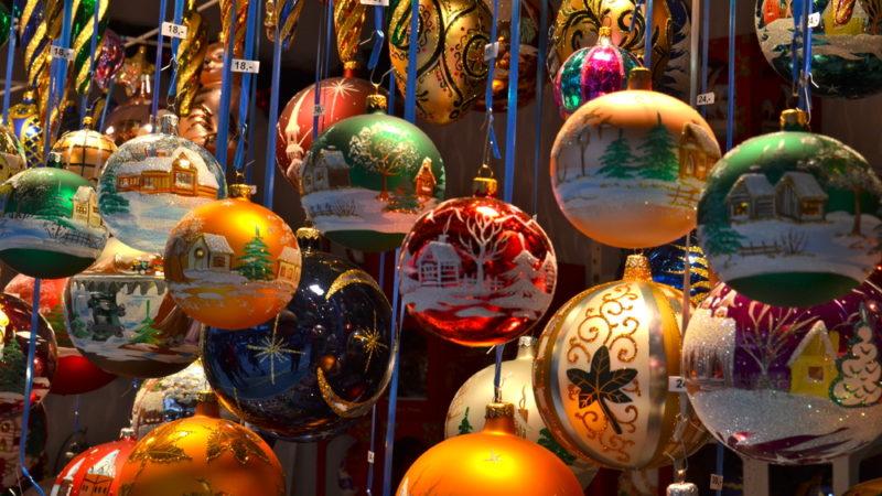 ornaments christmas market basel switzerland