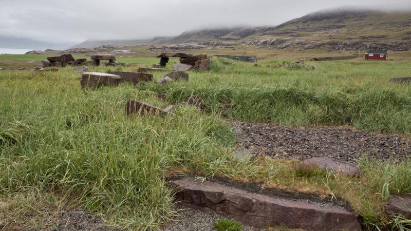 Ruins of Gardar Greenland