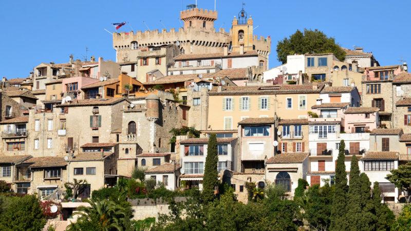 Haut-de-Cagnes Provence france