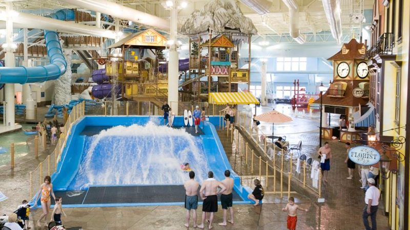 Photo by: Avalanche Bay Indoor Waterpark