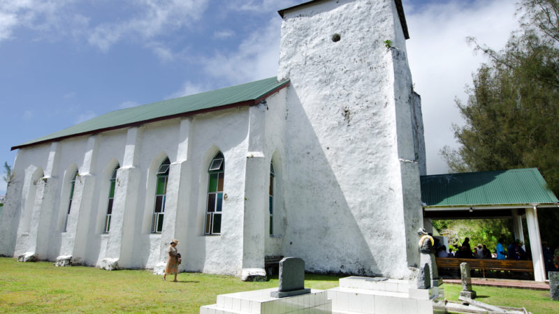Avarua Church cook islands