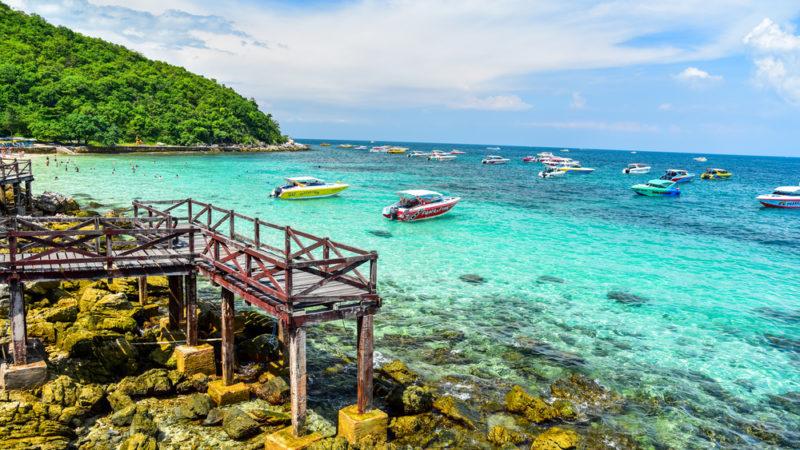 Koh Larn Beach thailand