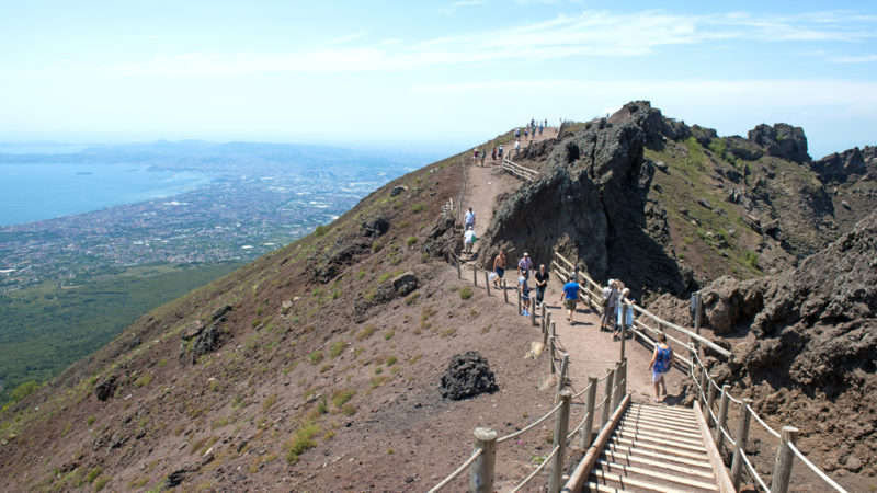 Mt. Vesuvius, Bay of Naples