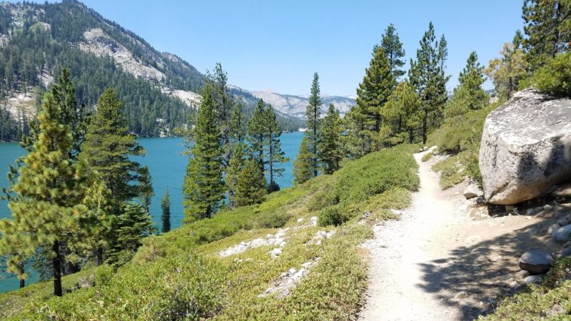 Lake Tahoe's Rim Trail