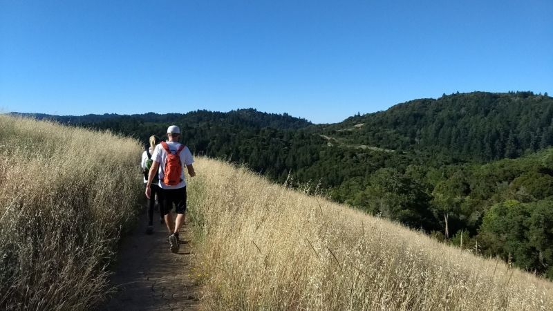 One of several challenging, but beautiful, hikes we did.