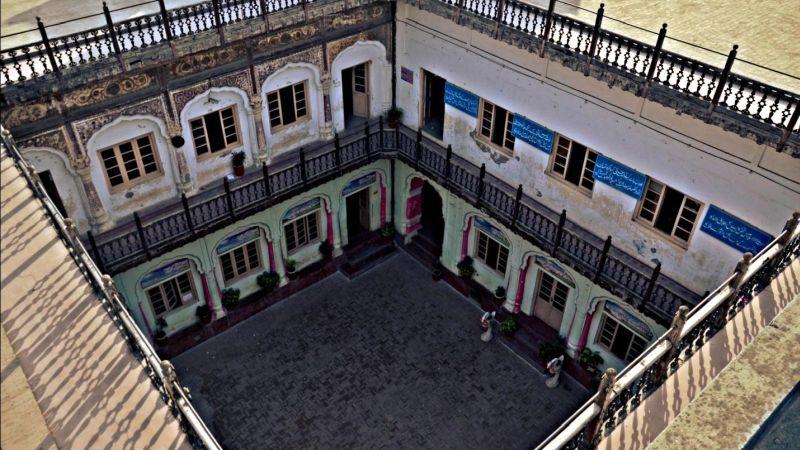 Haveli Nau Nihal Singh courtyard stories