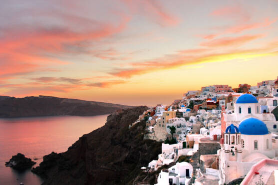 The Best Sunset in Santorini