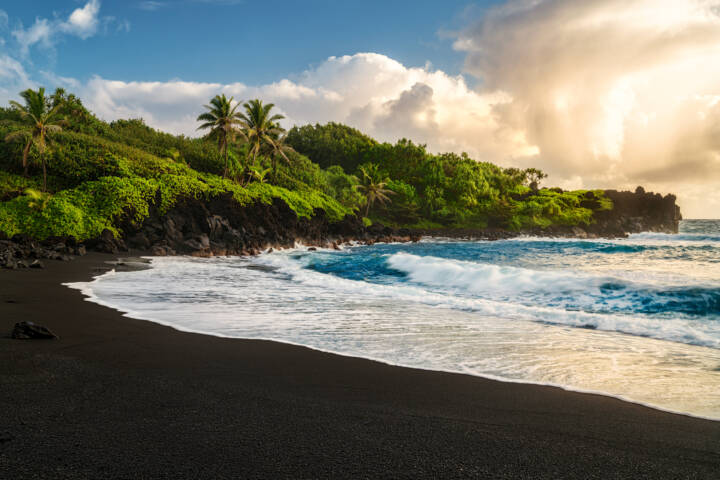A Guide To The World's Most Beautiful Black Sand Beaches