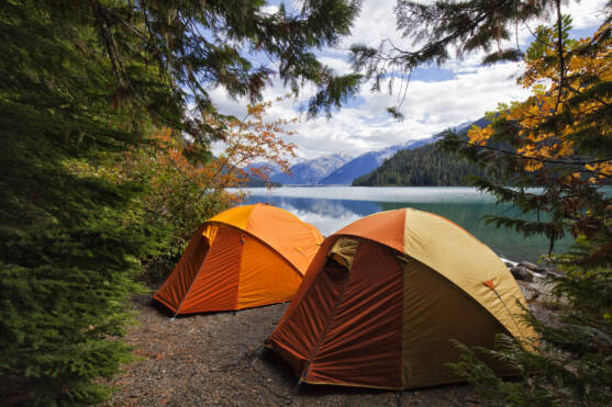 Two tents in Canada