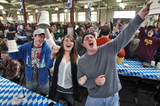 Oktoberfest celebration at Minnesota State Fairgrounds.