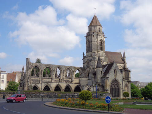 Caen, Church St-Etienne-le-Vieux, France