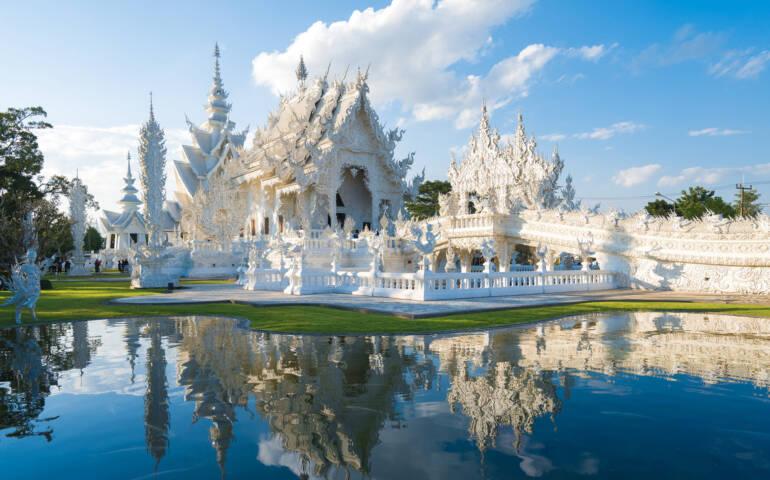 Wat Rong Kun, Chiang Rai, Thailand