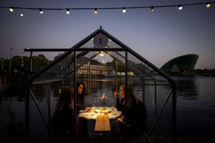 Unique Restaurants in Amsterdam