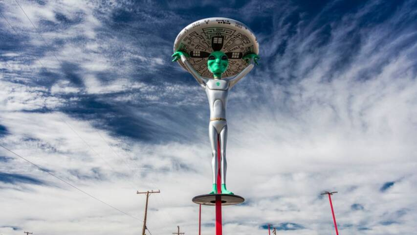 Top Three Places To Look For UFOs in the United States