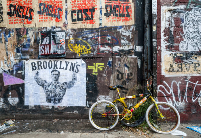 9 Pieces to Find on a Brooklyn Street Art Scavenger Hunt