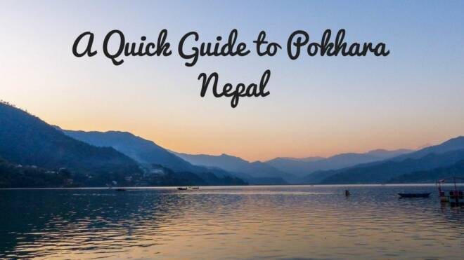 guide to pokhara