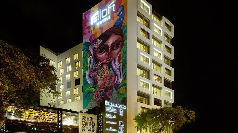 Photo courtesy of Aloft Lima Miraflores Hotel.