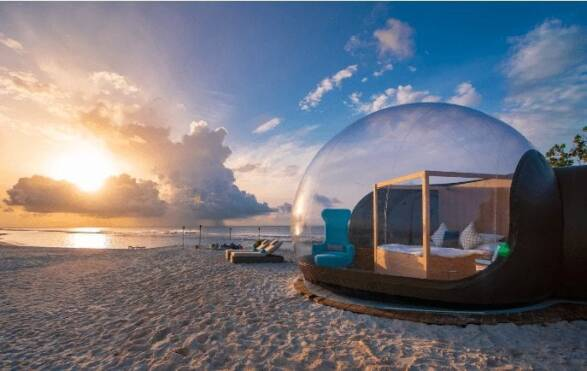 Beach Bubble Hotel Maldives