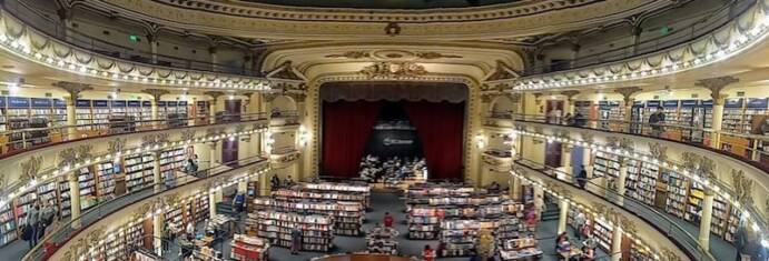 El Ateneo Grand Splendid in Buenos Aires, Argentina: the world's most beautiful bookstore.