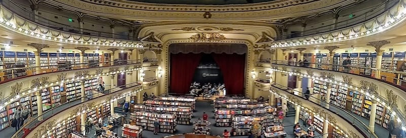 Is this the most beautiful bookstore in the world?