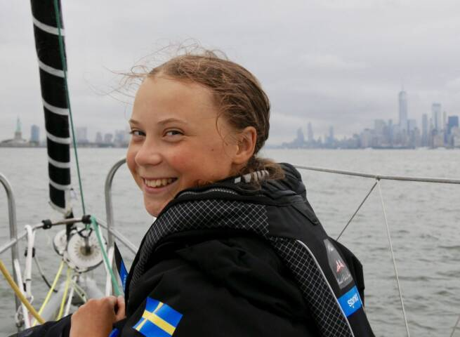 Join youth activist Greta Thunberg and lower your travel carbon footprint
