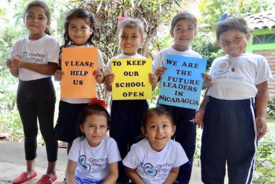 Help keep Ometepe Bilingual school open