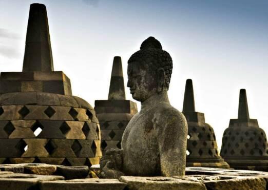 Travelling Across Java, Indonesia