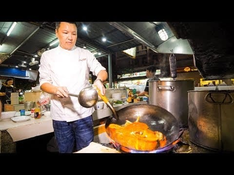 The Iron Chef Champion of Thailand: Insane Thai Food Cooking Skills