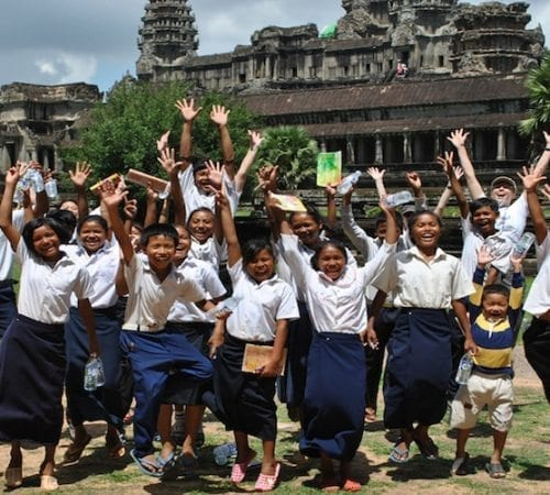 Bringing Education, and Hope, to Cambodia's Children