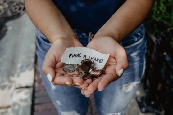 Make Change: Photo by Kat Yukawa on Unsplash