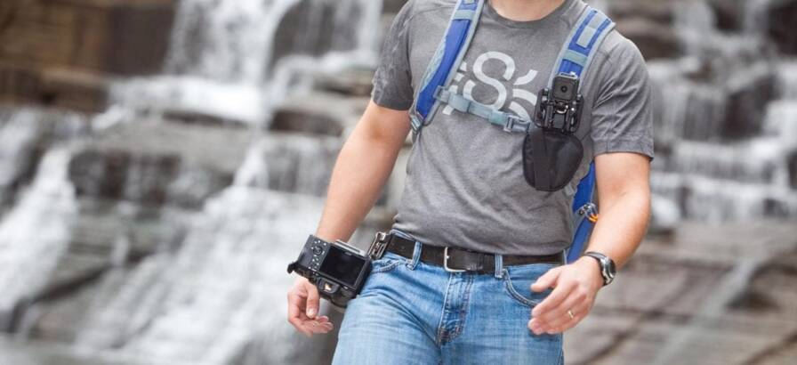 """""""Wear"""" Your Photography Gear Mission Impossible-style with the SpiderLight Backpacker Kit"""