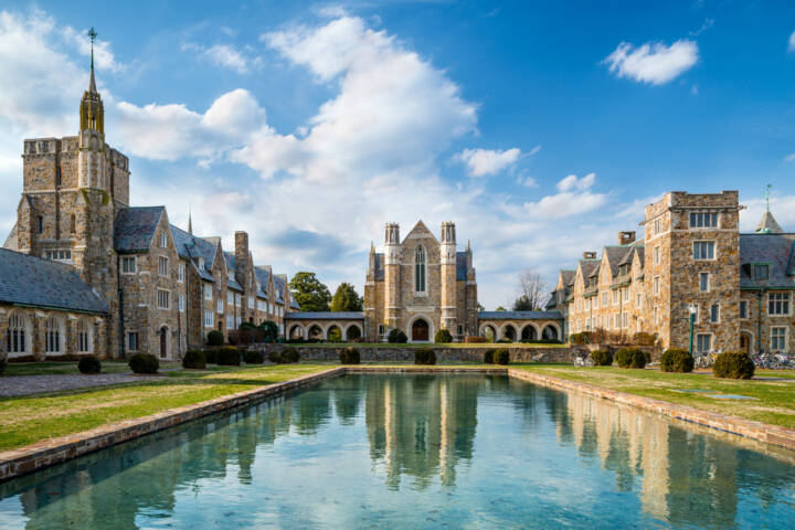 America's 12 Most Beautiful College Campuses