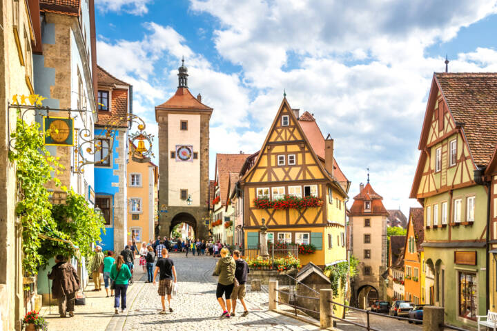 10 Most Enchanting Towns in Germany