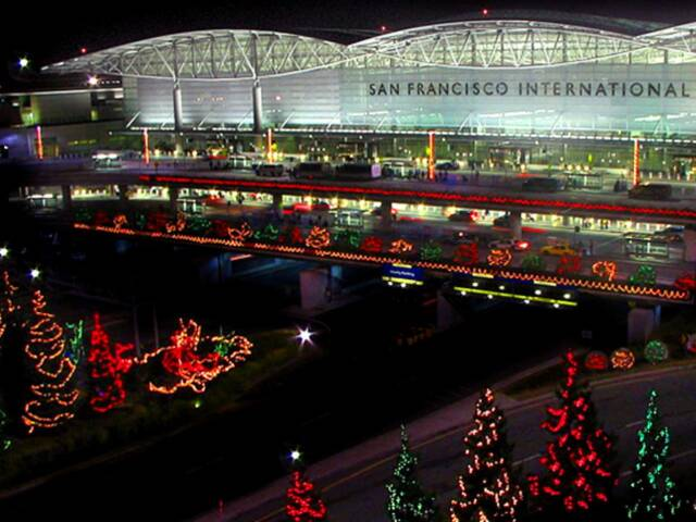 The 6 Busiest North American Airports at Christmas