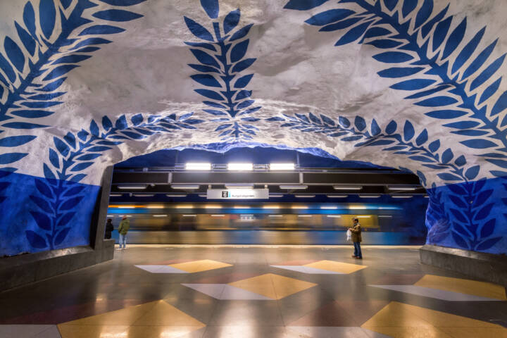 The 12 Most Beautiful Metro Stations In The World