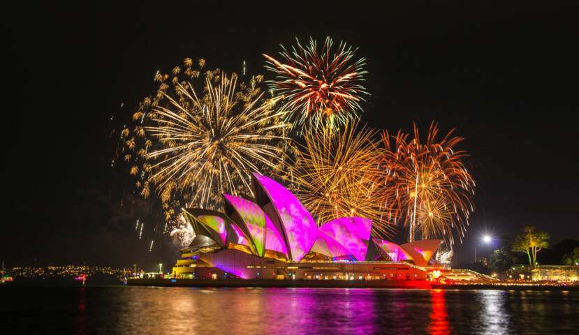 12 Awesome Images from Vivid Sydney Festival