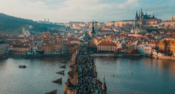 prague in march
