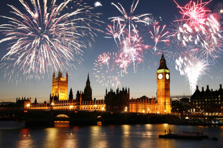 The 10 Best Places in the World Spend New Year's Eve!