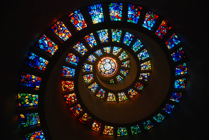 The Most Amazing Stained Glass in the World